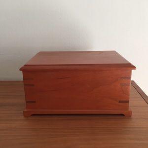 Beautiful handmade cherry jewelry box